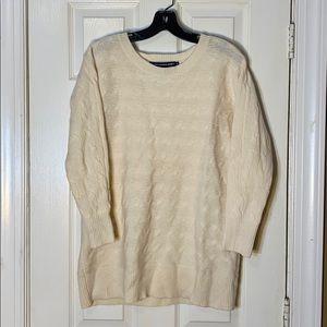 Ralph Lauren Sport Wool Blend Cable Knit Sweater S